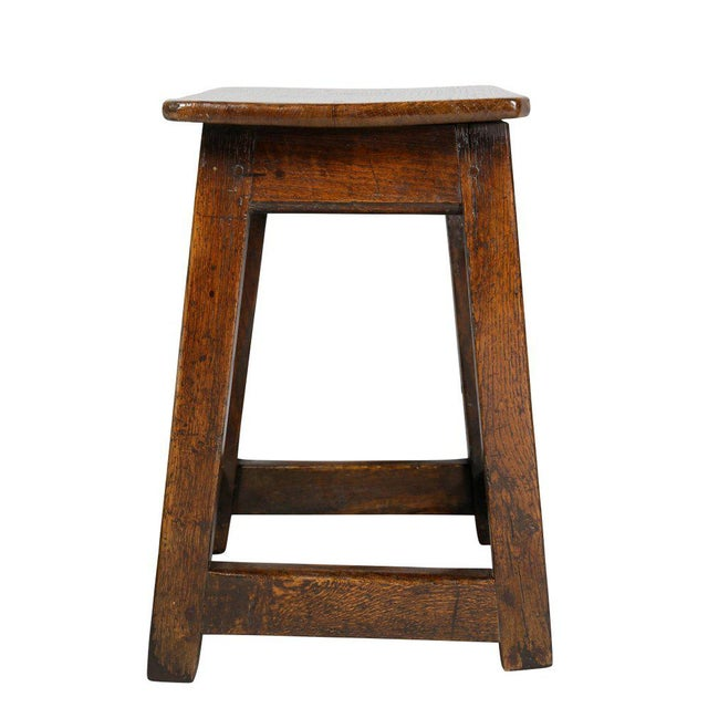 George II Oak Stool/Table For Sale In Boston - Image 6 of 8