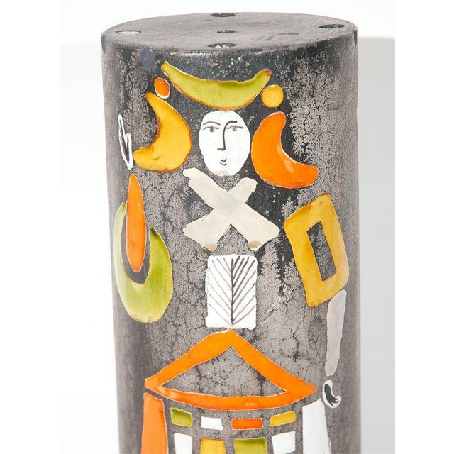 Roger Capron Ceramic Lamp Shade by Roger Capron For Sale - Image 4 of 7