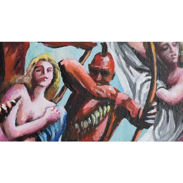 Oil Study for Myth of the Nubile Captives (Aka: Hey, That's Not Art!) - Image 5 of 8