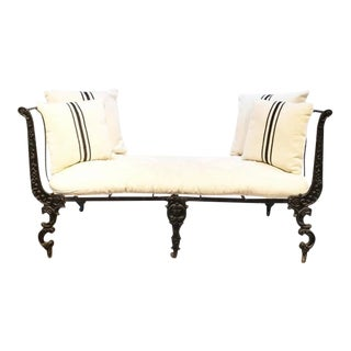 19th Century Iron Daybed For Sale