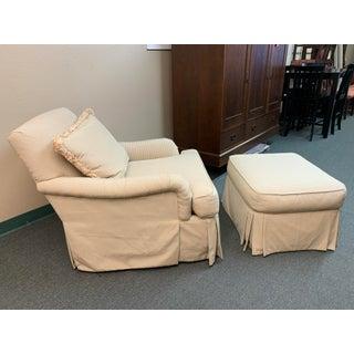 Vanguard Arm Chair + Ottoman Preview