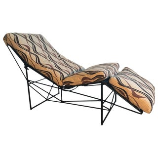 Sculptural Chaise Lounge by Paolo Passerini, 1985 For Sale