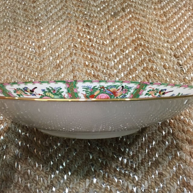 Vintage Japanese Hand Painted Floral Bowl - Image 5 of 6