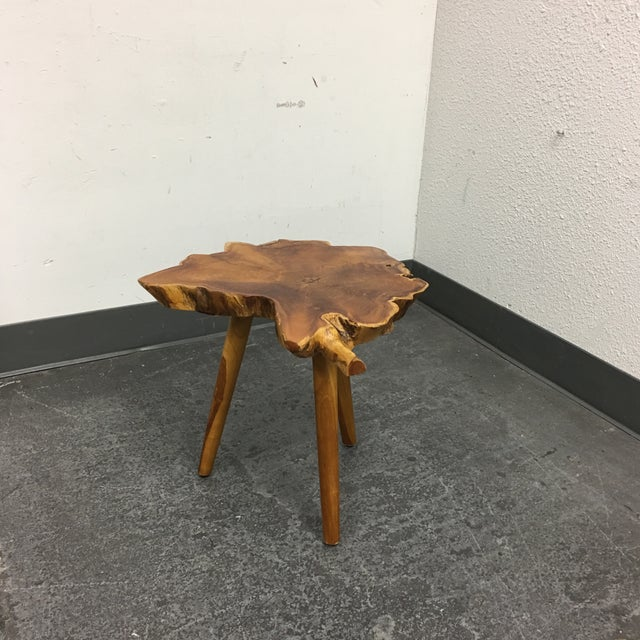Live Edge Side Table - Image 8 of 9