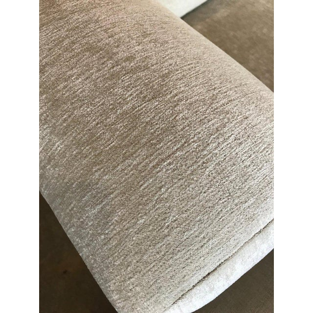 Marge Carson Hollywood Regency Sofa and Chairs Redone in Knoll Summit Fabric For Sale - Image 10 of 13