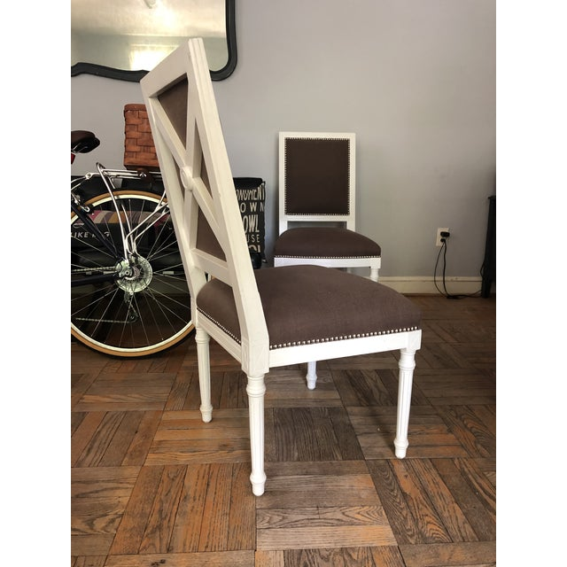 Jonathan Adler Dining Chairs - a Pair For Sale - Image 10 of 11