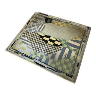 "1960s Emilio Pucci ""Giardino"" Print Rug - 5′8″ × 6′4″ For Sale"