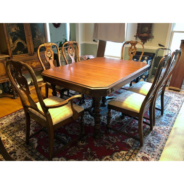 Berkey and Gay Dining Set For Sale - Image 12 of 12