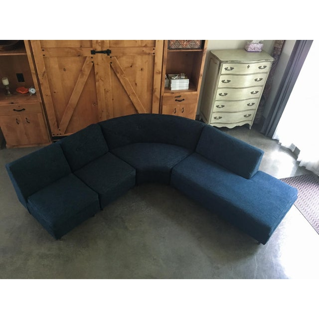 Mid Century Sectional Sofa - Image 3 of 11