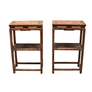 19th Century Chinese Side Tables - a Pair For Sale