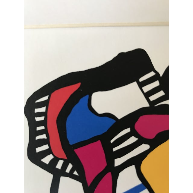 1983 - Wolf Bauer - Hand Signed Lithograph For Sale In Los Angeles - Image 6 of 9