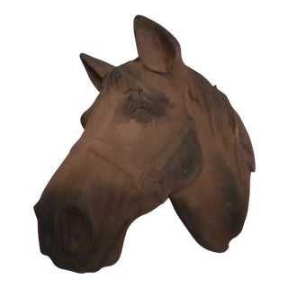 Terra Cotta Style Horse Head For Sale
