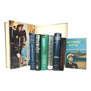 Vintage John F. Kennedy Mini Library - Set of 8