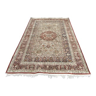 Silk Persian Rug For Sale