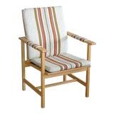 Image of Børge Mogensen Model 2257 1960s Oak Lounge Chair for Fredericia Stolefabrik For Sale