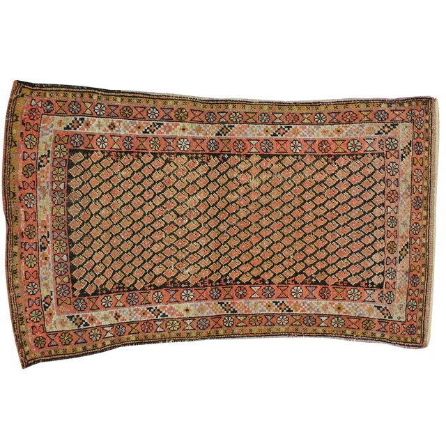 "Vintage Persian Malayer Rug - 3'8"" X 6'0"" - Image 1 of 3"