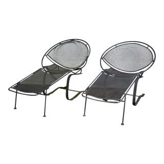 Maurizio Tempestini for Salterini Chaise Lounges - a Pair For Sale