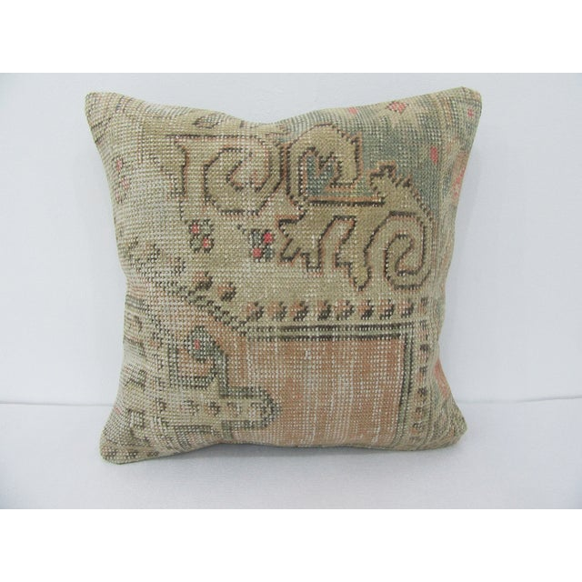 Vintage Turkish Decorative Cushion Cover For Sale - Image 4 of 4