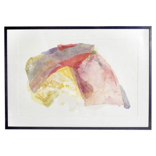 Framed Abstract Paper Collage For Sale