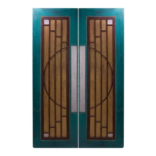 Art-Deco Style Doors from Goodspeed Opera House - A Pair For Sale