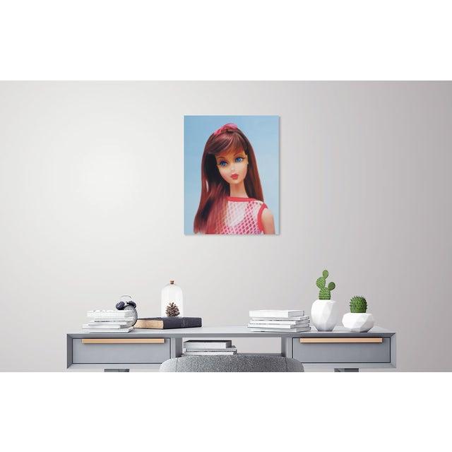 """""""Twist 'N Turn"""" Barbie Oil Painting For Sale - Image 11 of 11"""