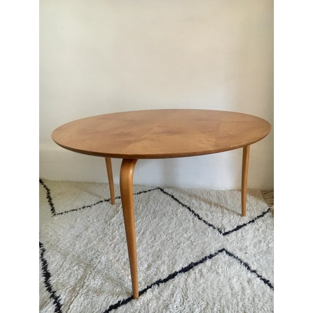Bruno Mathsson Mid-Century Modern Annika Coffee Table - Image 3 of 7