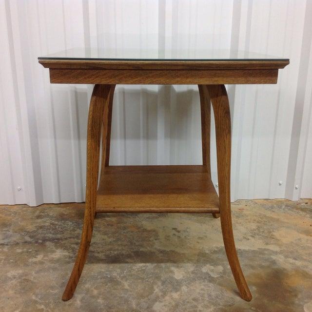 T h robsjohn gibbings klismos table chairish for Table th width