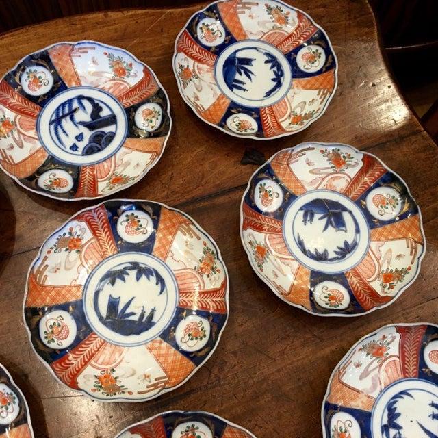 Japanese Imari Porcelain Dishes - Set of 8 - Image 2 of 4