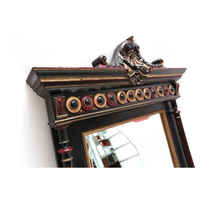 Regency Style Overmantel Mirror For Sale - Image 6 of 8