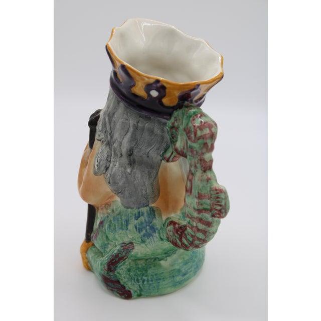English Staffordshire Father Neptune Nautical Mug / Toby Jug For Sale - Image 6 of 10