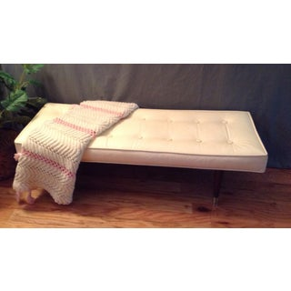 Vintage Mid Century Milo Baughman for Thayer Coggins Tufted Upholstered Bench Original Preview