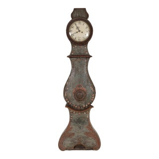 18th Century Gustavian Mora Fryksdall Clock For Sale