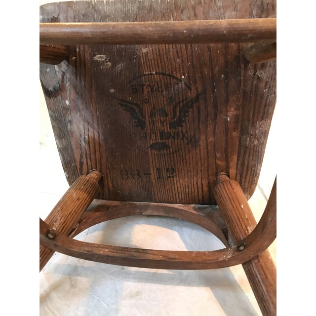 Antique Phoenix Chair Company Wooden Child's Chair - Image 5 ... - Antique Phoenix Chair Company Wooden Child's Chair Chairish