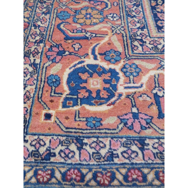 Tabriz carpets of the 19th and early 20th centuries are renowned for balancing fineness of design with a a sturdy but...
