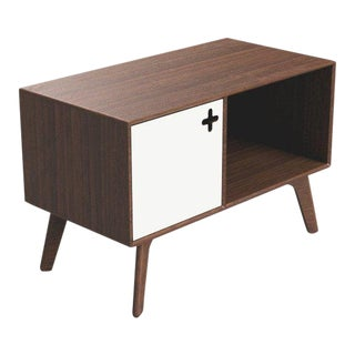 Danish Modern Max Moody Design Record Player Cabinet For Sale