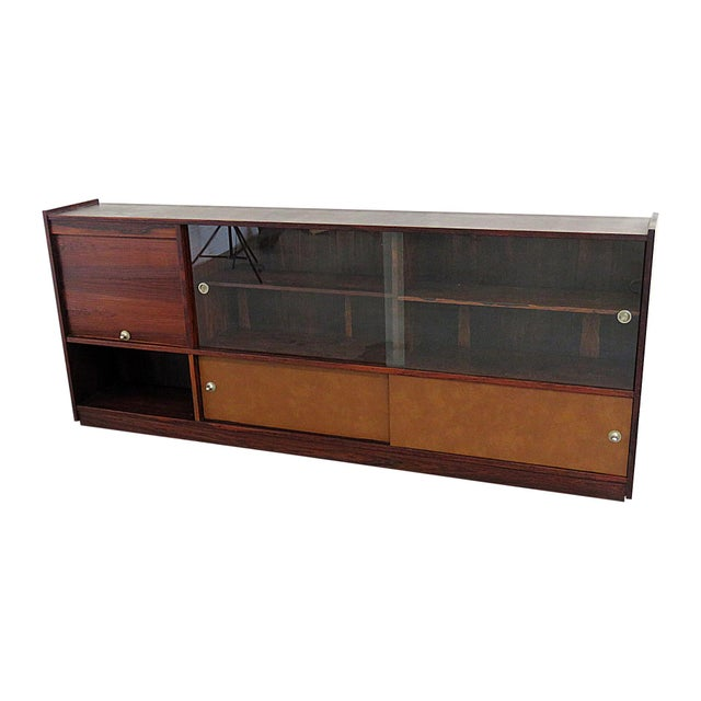 piece inch vintage ven bookcase wall in finish black burnished library tv ph console htm p entertainment venezia