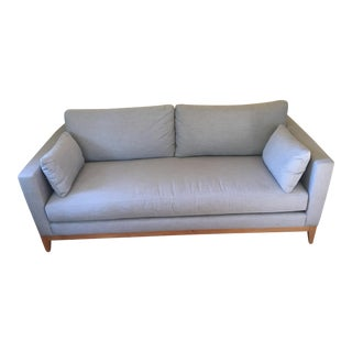 Light Grey Sofa - Bench Seat For Sale