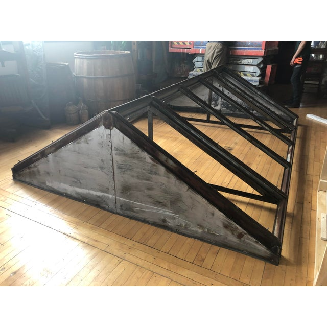 Metal Antique Metal Skylight For Sale - Image 7 of 7