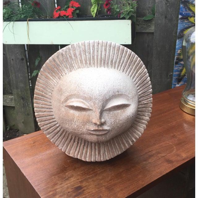 Austin Productions Inc Sun God Face Statue.Paul Bellardo For Sale - Image 10 of 10