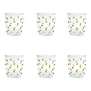 Party Tumbler in Golden Yellow - Set of 6 For Sale