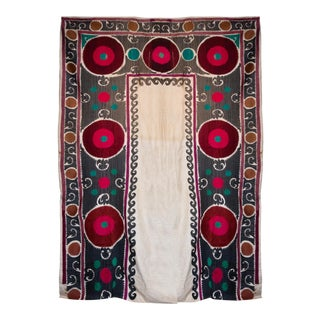 Vintage Suzani Textile Art For Sale