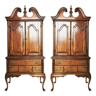 Pair of Gorgeous Chippendale Cabinets For Sale