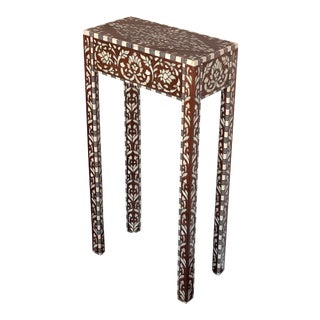 Mother of Pearl Inlaid Side Table For Sale