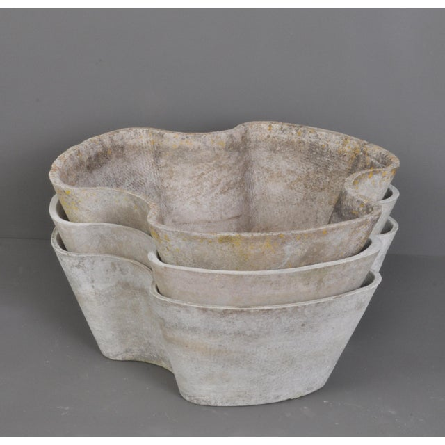 """Gray """"Semiramis"""" Stackable Jardiniere by Eternit, Switzerland, 1960s For Sale - Image 8 of 11"""