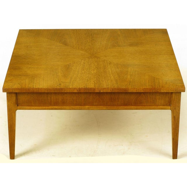 Michael Taylor For Baker New World Mahogany Coffee Table - Image 4 of 8