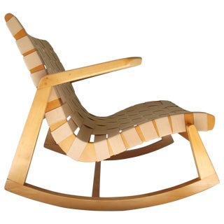 1945 Ralph Rapson Rocker for Knoll For Sale