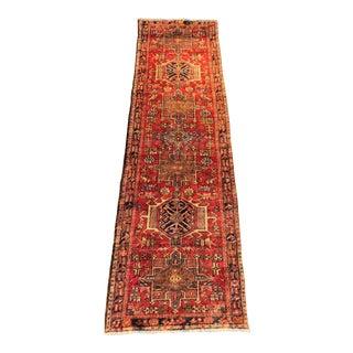 """Vintage Persian Karajeh Runner Rug -2'11""""x9'9"""""""