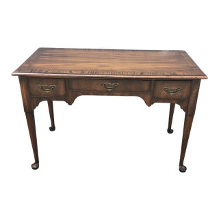 1960s Queen Anne Hekman Furniture Writing Desk For Sale