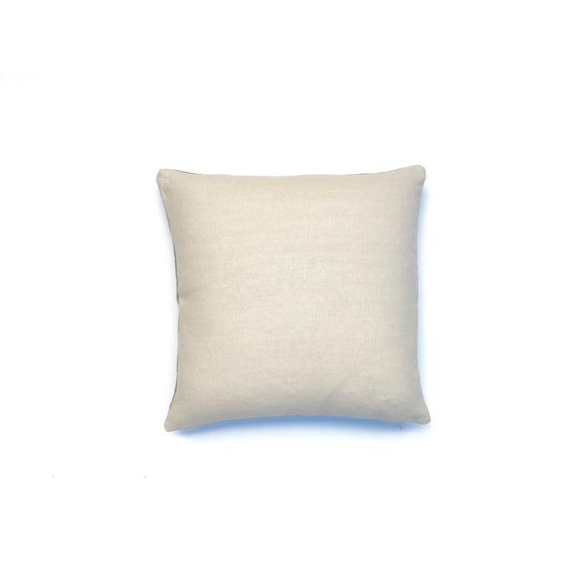 Aubergine Nui Shibori Circle Pillow Cover For Sale - Image 5 of 6