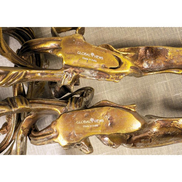 Global Views Louis XV Style Wall Sconces - a Pair For Sale - Image 10 of 11